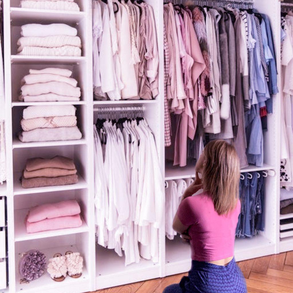 come scegliere il tuo outfit? L'ordine è la prima cosa da cui partire